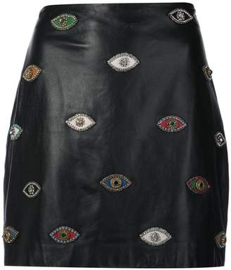 Nicole Miller Evil Eye skirt