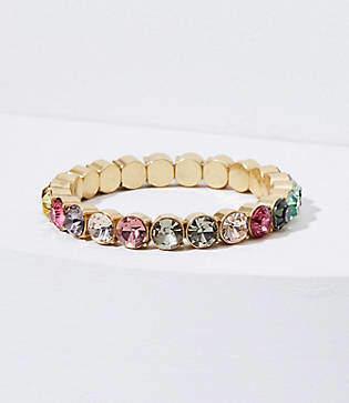 LOFT Rainbow Stretch Bracelet