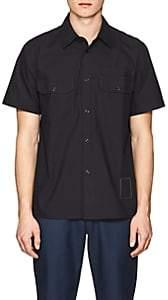 Rag & Bone Men's Mechanic Cotton Poplin Shirt - Black