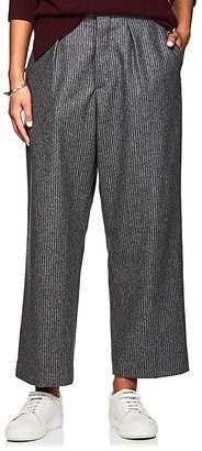 Officine Generale Women's Diana Wool Flannel Trousers