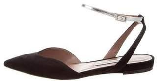 Tabitha Simmons Vera Ankle Strap Flats