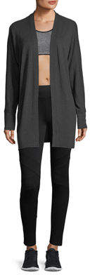 Marc Ny Performance Raw-Edged Open-Front Cardigan