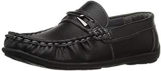 Josmo Boys' Metal Accent Driving Style Loafer