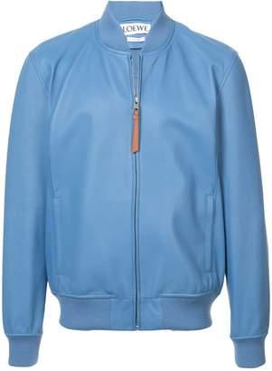 Loewe leather bomber jacket