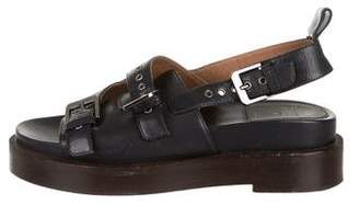 Laurence Dacade Buckle-Accented Block Sandals