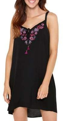 Captiva Embroidered Cover-Up Dress
