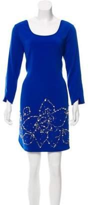 Mark & James by Badgley Mischka by Badgley Mischka Embellished Mini Dress