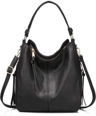 99c6ae4aff Realer Shoulder Bags for Women Large Ladies Crossbody Bag with Tassel.