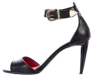 Charles Jourdan Gaven Lizard Sandals