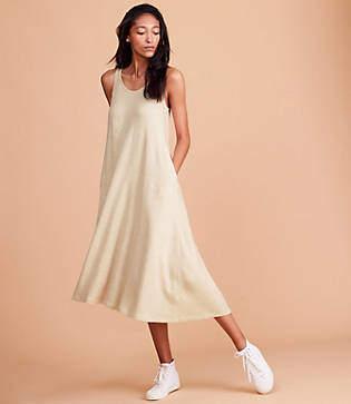 Lou & Grey Signaturesoft Midi Swing Dress
