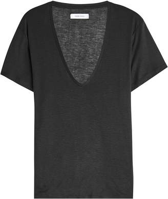 Anine Bing Silk T-Shirt