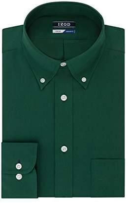 Izod Mens Dress Shirts Regular Fit Stretch Buttondown Collar