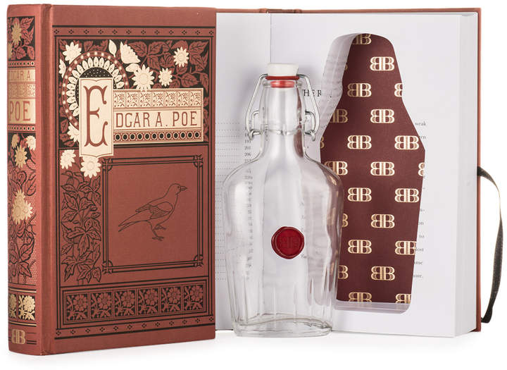 Bender Bound Edgar Allan Poe Book with Hidden Flask