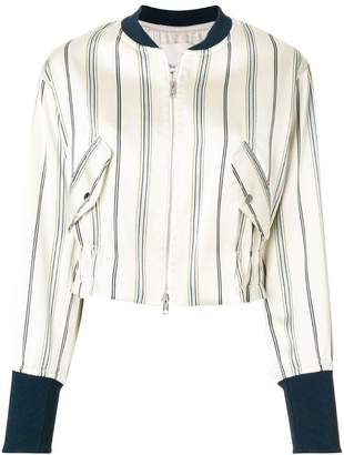 3.1 Phillip Lim striped bomber jacket