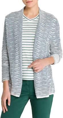 Olsen Colour Love Long Open Weave Cardigan