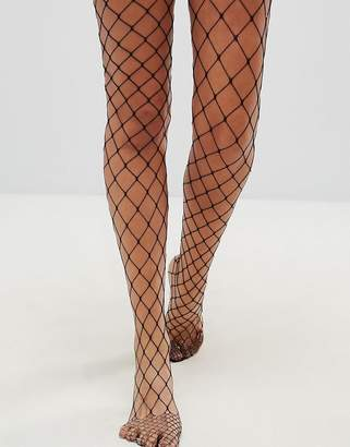 Asos DESIGN oversized fishnet tights