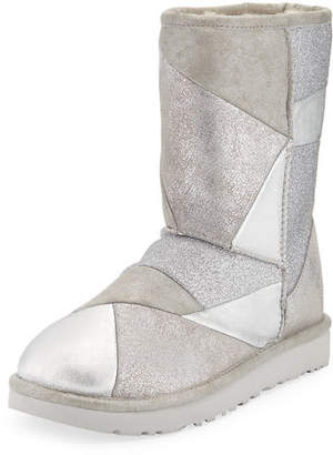 UGG Classic Glitter Patchwork Boots
