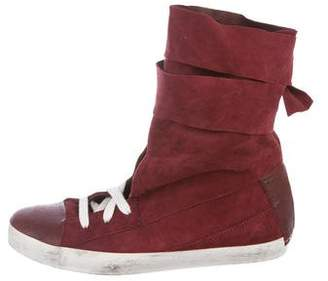 Cinzia Araia CA by Suede High-Top Sneakers