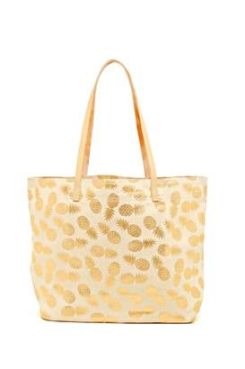 Shiraleah Gold Pineapple Tote