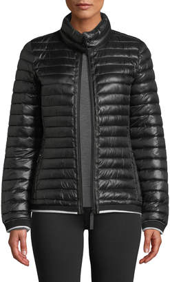 Marc Ny Performance Stand-Collar Zip-Front Puffer Jacket