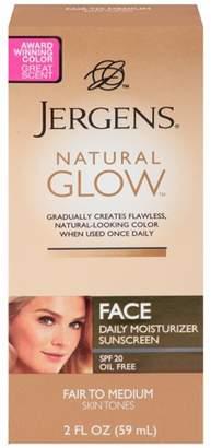 Jergens Natural Glow Face Moisturizer 2 oz (Fair/Medium)