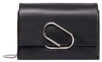 3.1 Phillip Lim 'Alix' Leather Clutch - Black $895 thestylecure.com