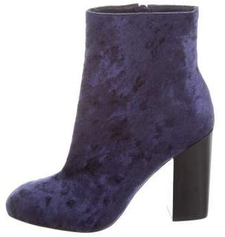 5c85d1c76d8b6 Pre-Owned at TheRealReal. Rebecca Minkoff Crushed Velvet High Heel Boots