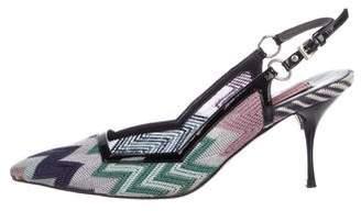Missoni Variante Slingback Sandals