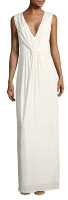 Halston H Sleeveless Column Gown