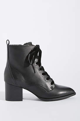 Seychelles Trench Lace-Up Booties