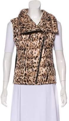 Calvin Klein Printed Zip-Up Vest