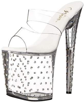 Pleaser USA Women's Stdus802/C/M Platform Dress Sandal