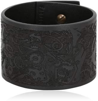 Chronos Leather Bracelet
