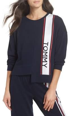 Tommy Hilfiger Asymmetric Hem Sweatshirt