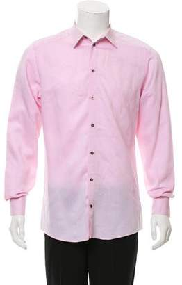 Dolce & Gabbana Speckled Button-Up Shirt
