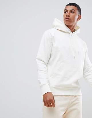 J. Lindeberg Chip Luxe hoodie in cream