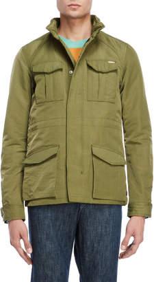 Scotch & Soda Military Green Utility Jacket