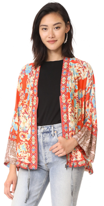 Free People Wildflower Cinched Kimono $128 thestylecure.com