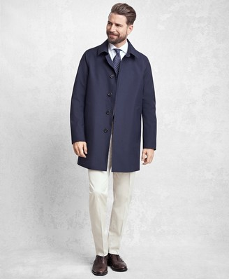 Brooks Brothers Golden Fleece Laser Cut Seamless Trench