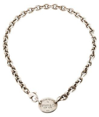 Tiffany & Co. Oval Tag Necklace $225 thestylecure.com