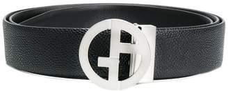 Giorgio Armani monogram classic belt