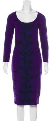 Antonio Berardi Knit Midi Dress w/ Tags