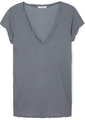 James Perse Cotton-jersey T-shirt - Gray