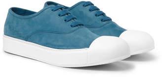 Prada Cap-Toe Nubuck Sneakers