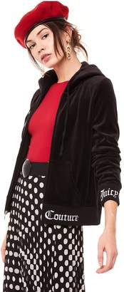 Juicy Couture Juicy Jacquard Velour Robertson Jacket