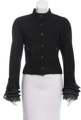 Chanel Linen-Blend Jacket