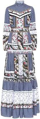 Erdem Cassandra printed cotton dress