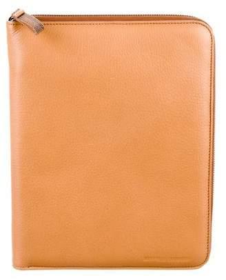 Brunello Cucinelli Monili-Embellished iPad Case
