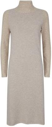 Fabiana Filippi Long Sequin-Embellished Dress