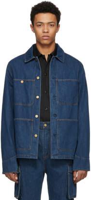 Acne Studios Bla Konst Indigo Natural Denim Jacket